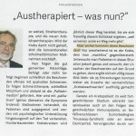 """Austherapiert"" - was nun?"